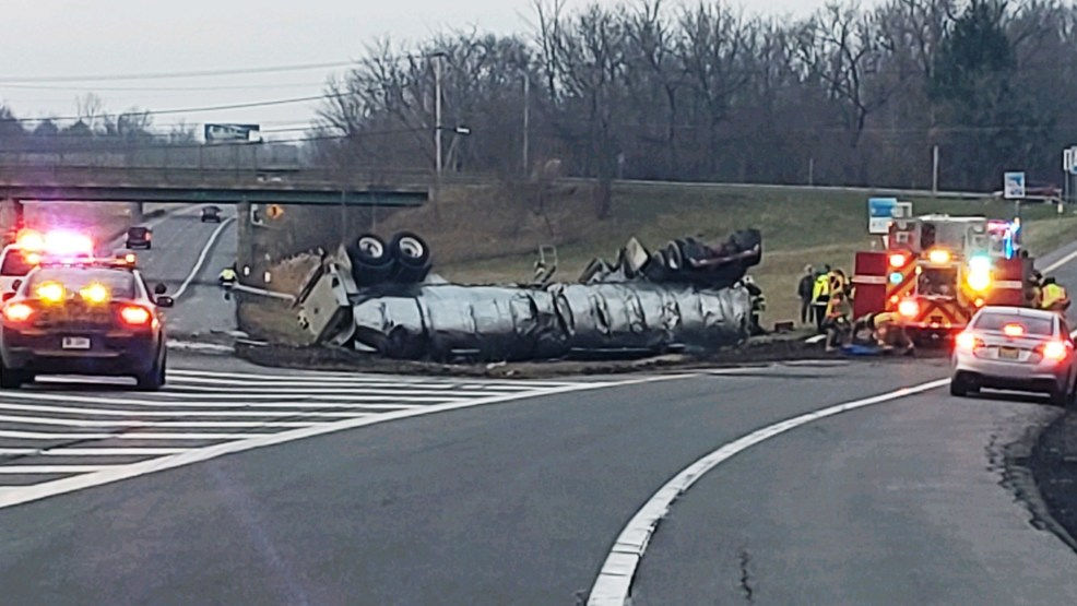 State Police: 7,200 gallons of milk spills on I-81 after tractor-trailer crash