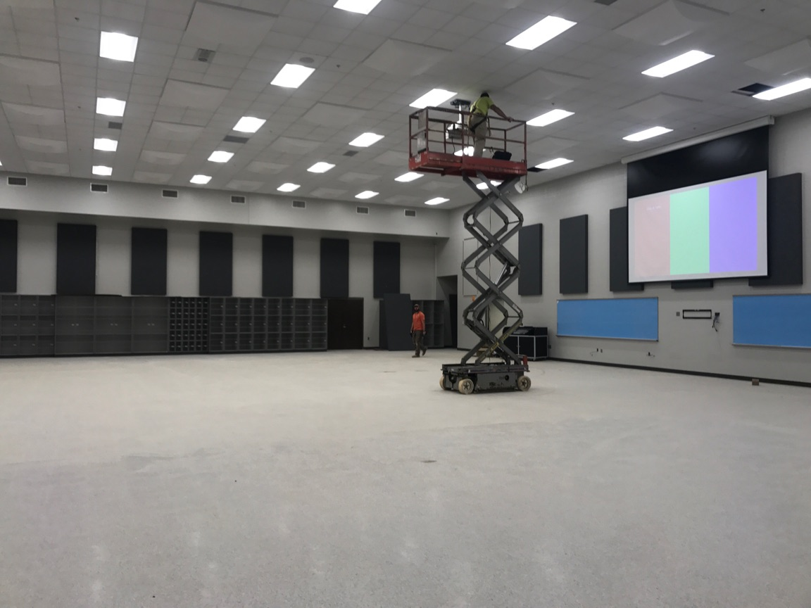 This band room will be part of a 14,000 square foot performing arts wing inside Alabaster's new Thompson High School.<p></p>