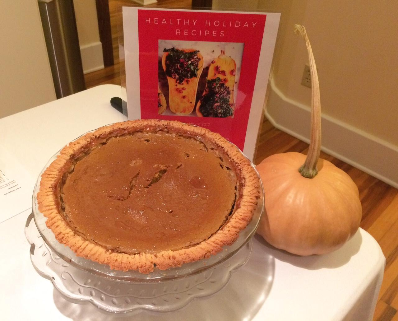 Eating healthy during the holidays, paleo pumpkin pie. (Photo courtesy: WLOS staff)<p></p>