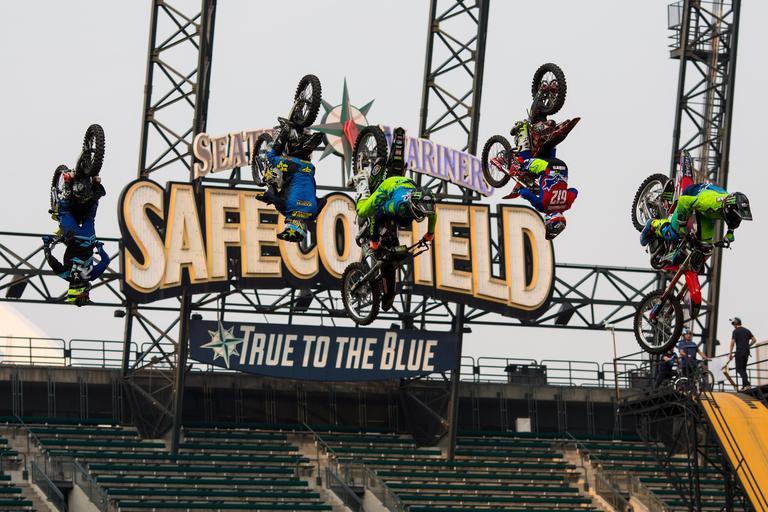 Safeco Field Was Transformed Last Night By High Adrenaline, Stunt  Performing Freestyle Athletes During