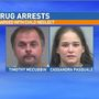 Gainesville couple accused of smoking crack in front of child as he sat in maggots