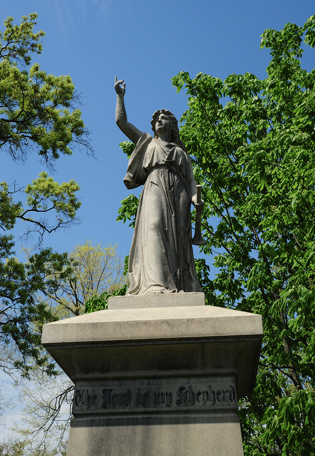 Spring Grove Cemetery & Arboretum is located at 4521 Spring Grove Avenue, Cincinnati OH 45232. / Image: Melissa Doss Sliney