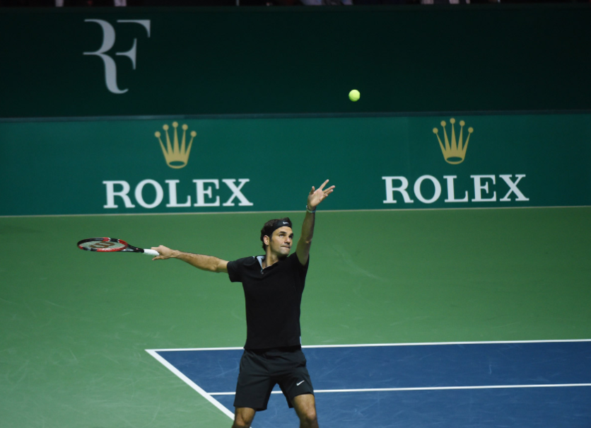 Images from Federer's 2014 Match for Africa event. (Image: Match for Africa: Seattle)