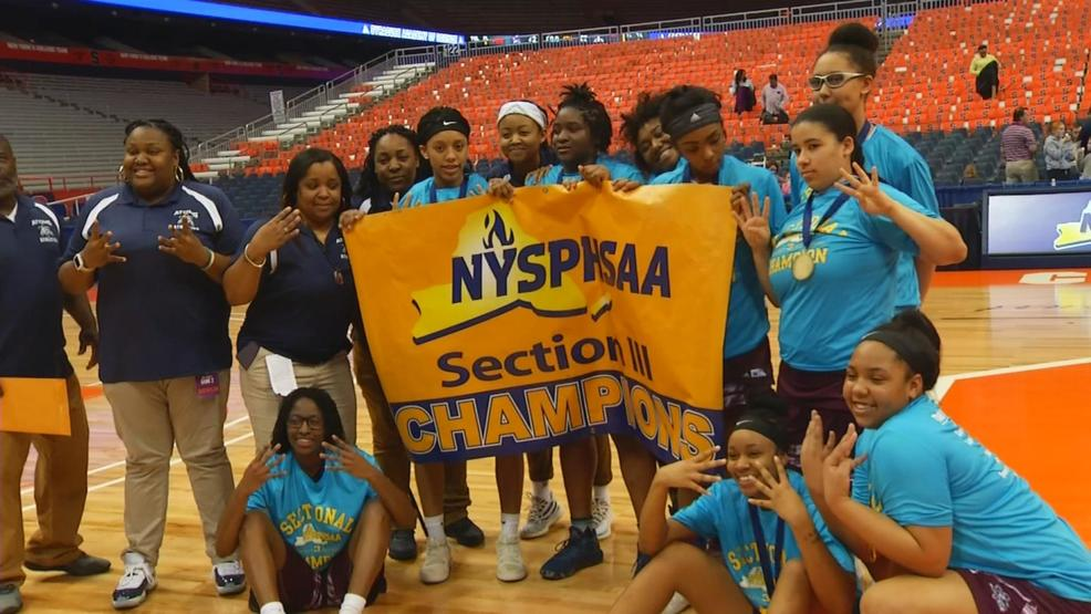 History Made Syracuse Academy Of Science Wins First Girls