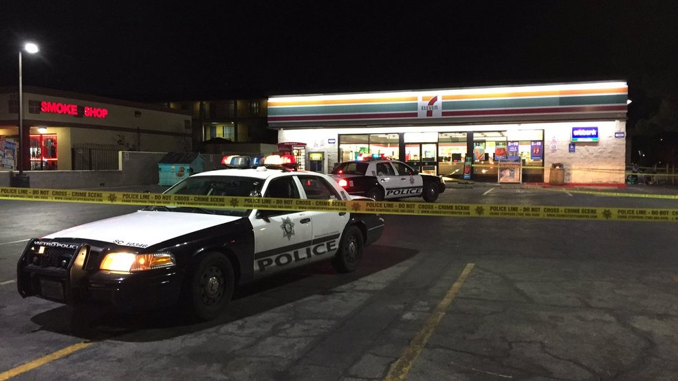 Man stabbed to death after fight at 7-Eleven near Desert Inn and