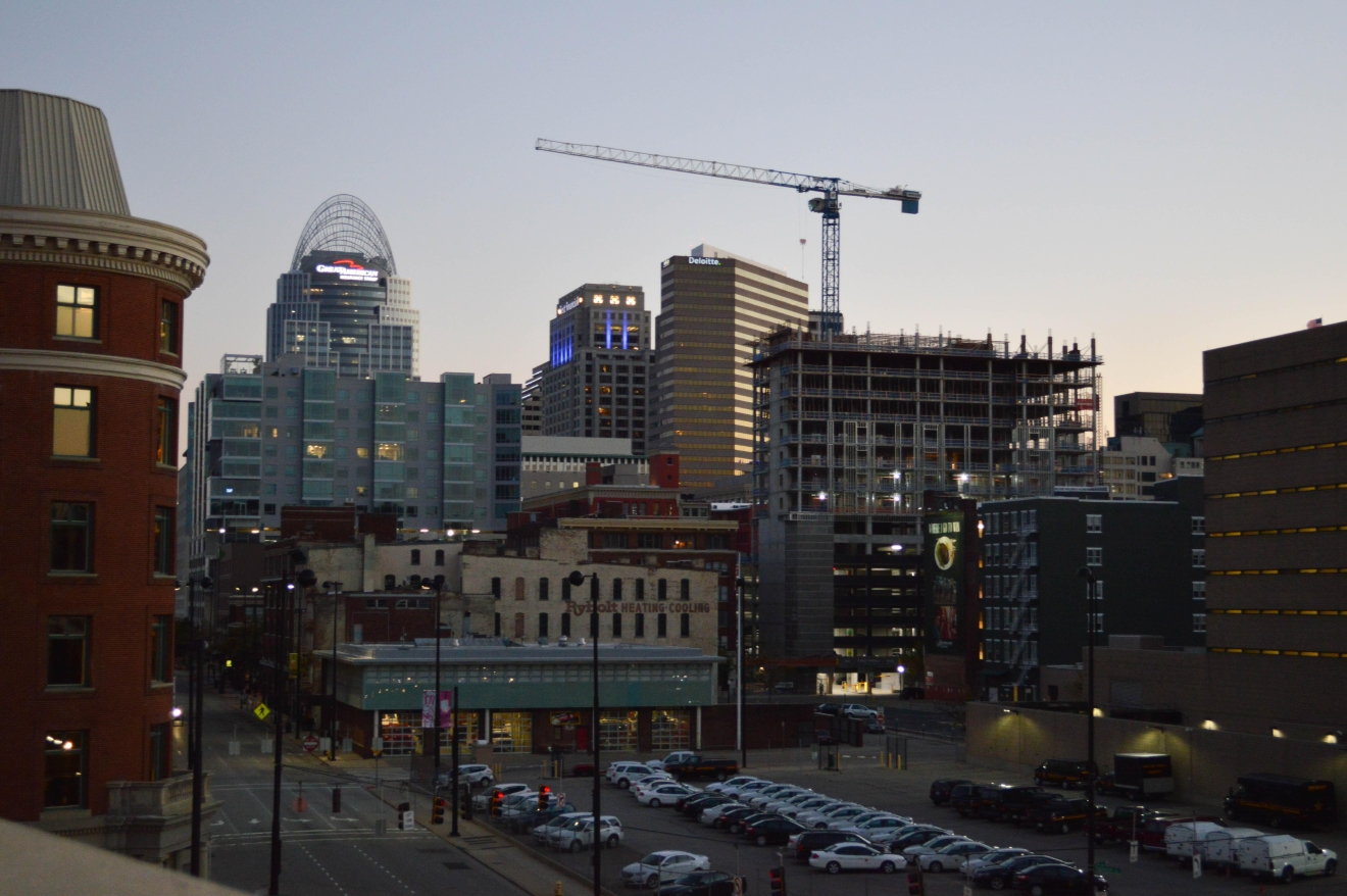 View of Downtown Cincinnati from JACK's Casino / Image: Liliana Dillingham