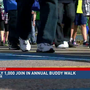 Nearly 1,000 people join in annual Buddy Walk