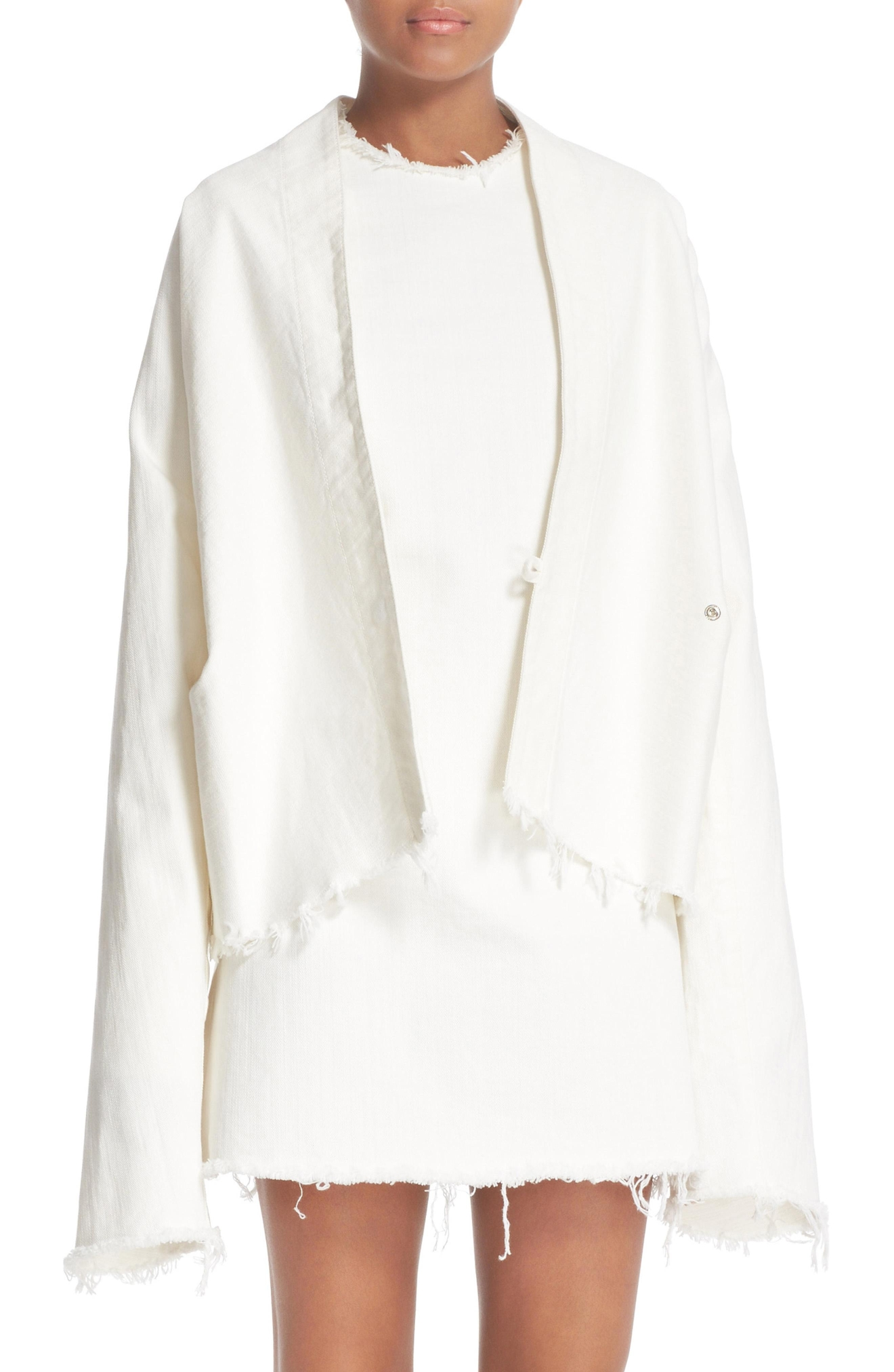 Marques'Almeida Draped Fitted Jacket + Janis Dress- $710. Get it at nordstrom.com/space. (Image: Nordstrom)