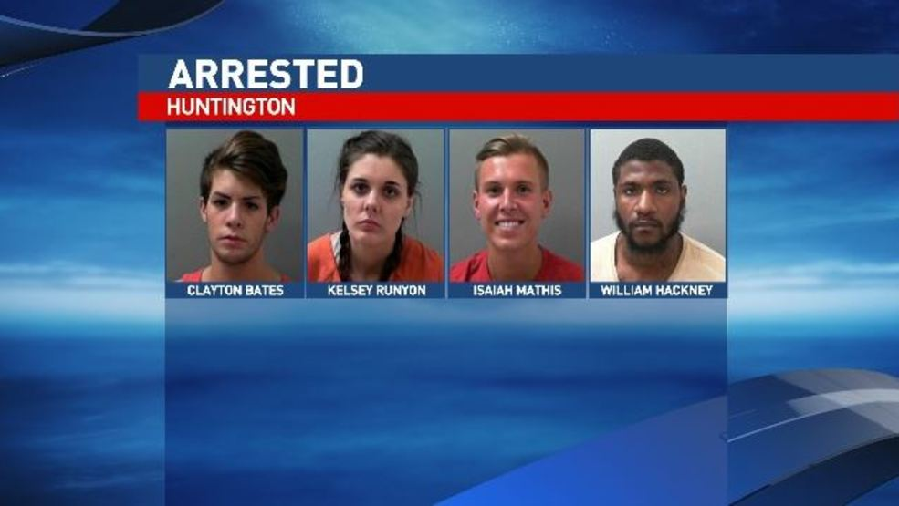 Image result for Four arrested after two Huntington police officers receive treatment for drug exposure