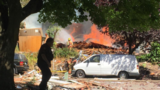 Two injured in house explosion, fire near Peninsula Park in N Portland