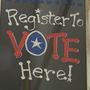 Local voting organizations encouraging all eligible to register to vote