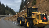 Photos: Rock slide blocks traffic on Interstate-90 in northern Idaho