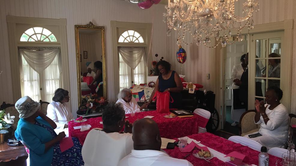 Ms. Willie Mae Saxon of Macon turns 100