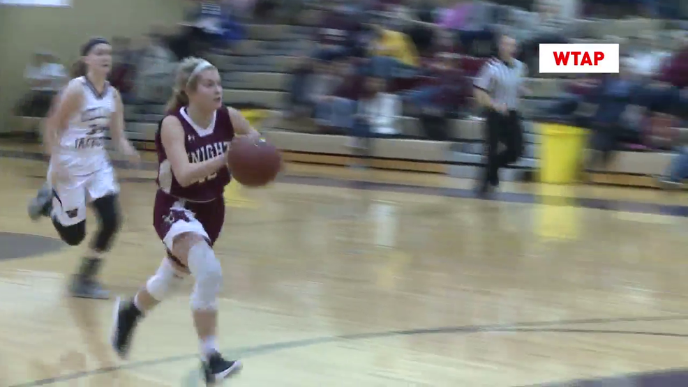 12.9.17 Highlights - Wheeling Central vs Williamstown - girls basketball