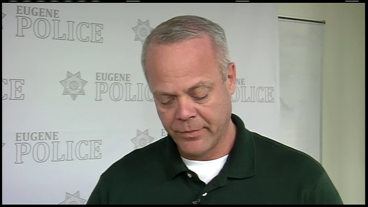Eugene Police on deaths of two wanted suspects.Thumbnail