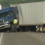 Driver loses control, crosses median and collides with semi on SR 4