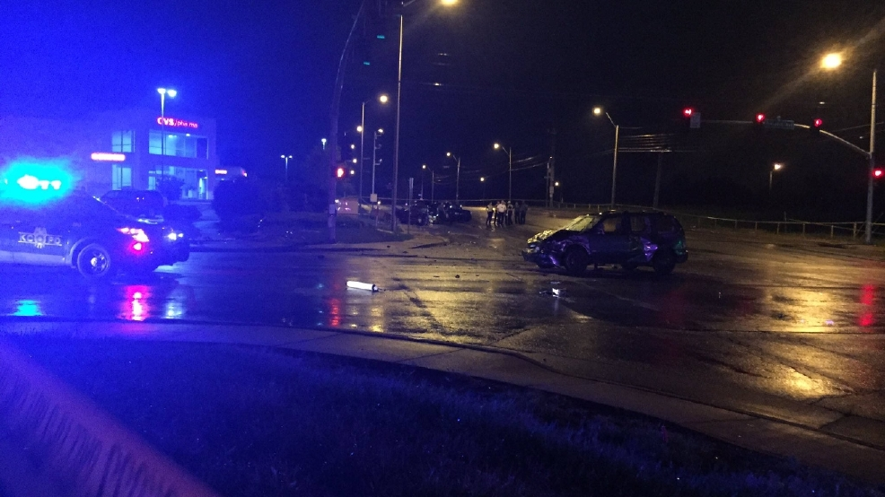 1 dead after wounded driver runs red light causes wreck for Kansas city star fishing report