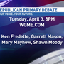 Maine Republican Gubernatorial Debate Tuesday