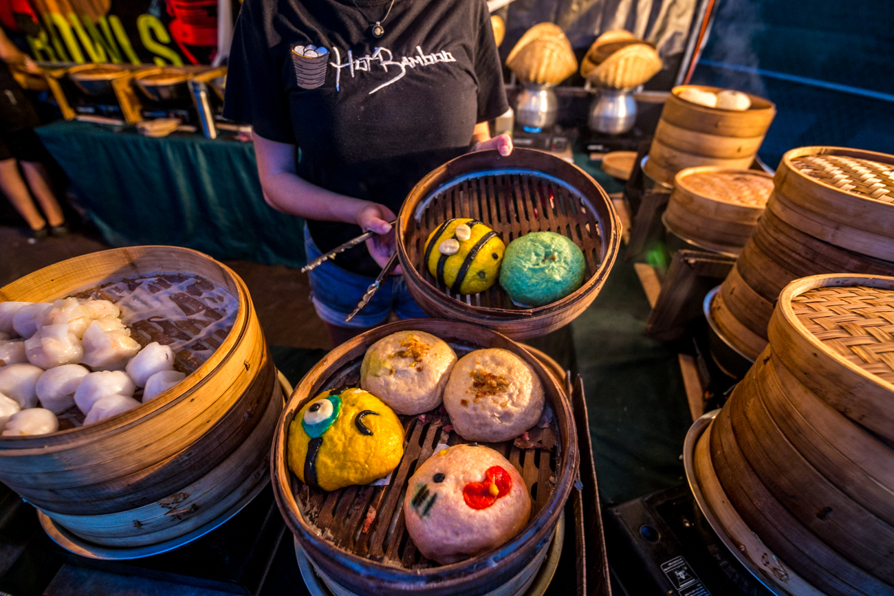 Hot Bamboo's steamed buns / Image: Catherine Viox{ }// Published: 6.3.19