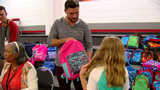 Independence church provides back-to-school backpacks