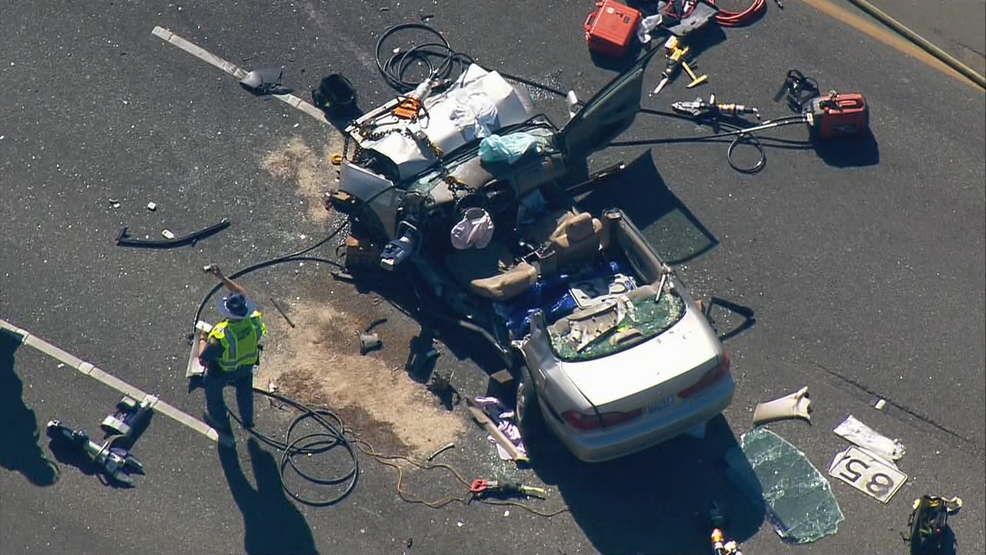 Westbound Hwy. 512 reopens in Parkland after multi-vehicle crash | KOMO