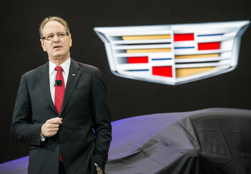 GM replaces Cadillac president after US sales decline