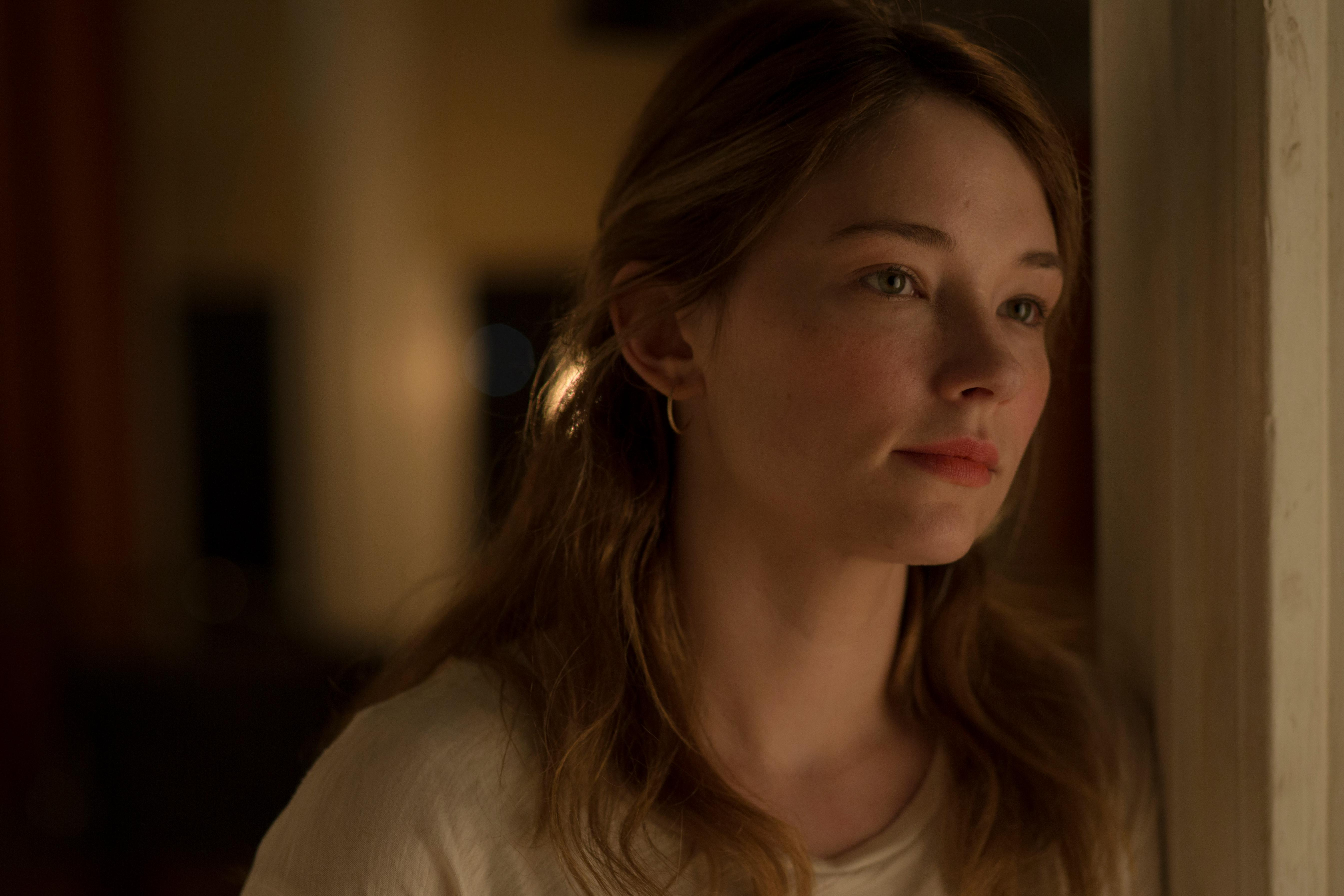 "HALEY BENNETT as Saskia Schumann in DreamWorks Pictures' ""Thank You for Your Service.""  The drama follows a group of U.S. soldiers returning from Iraq who struggle to integrate back into family and civilian life, while living with the memory of a war that threatens to destroy them long after they've left the battlefield."