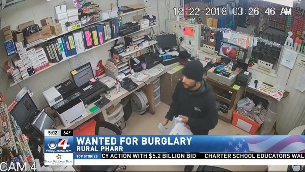 Hidalgo County Sheriffs Office Searching For Burglary Suspect