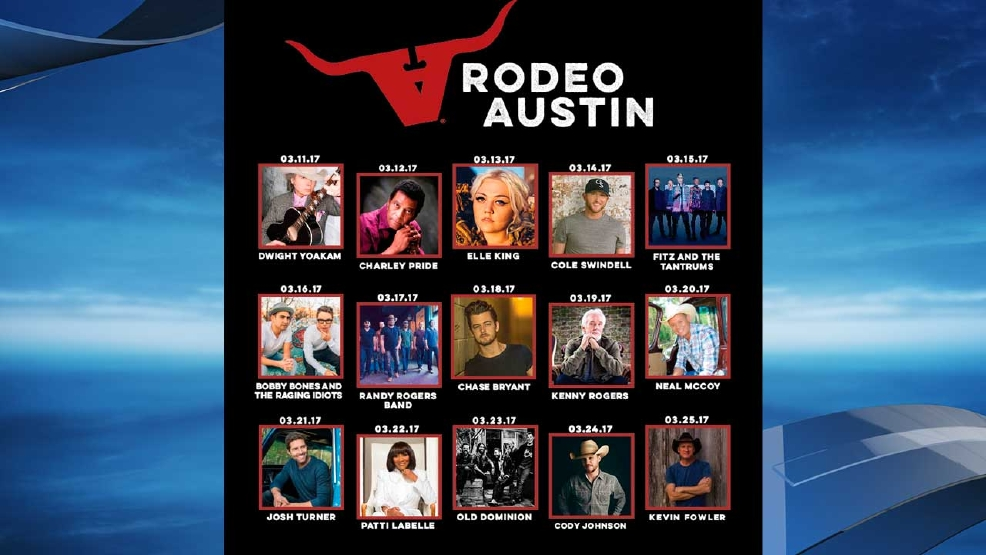 Rodeo Austin Announces 2017 Music Lineup Keye