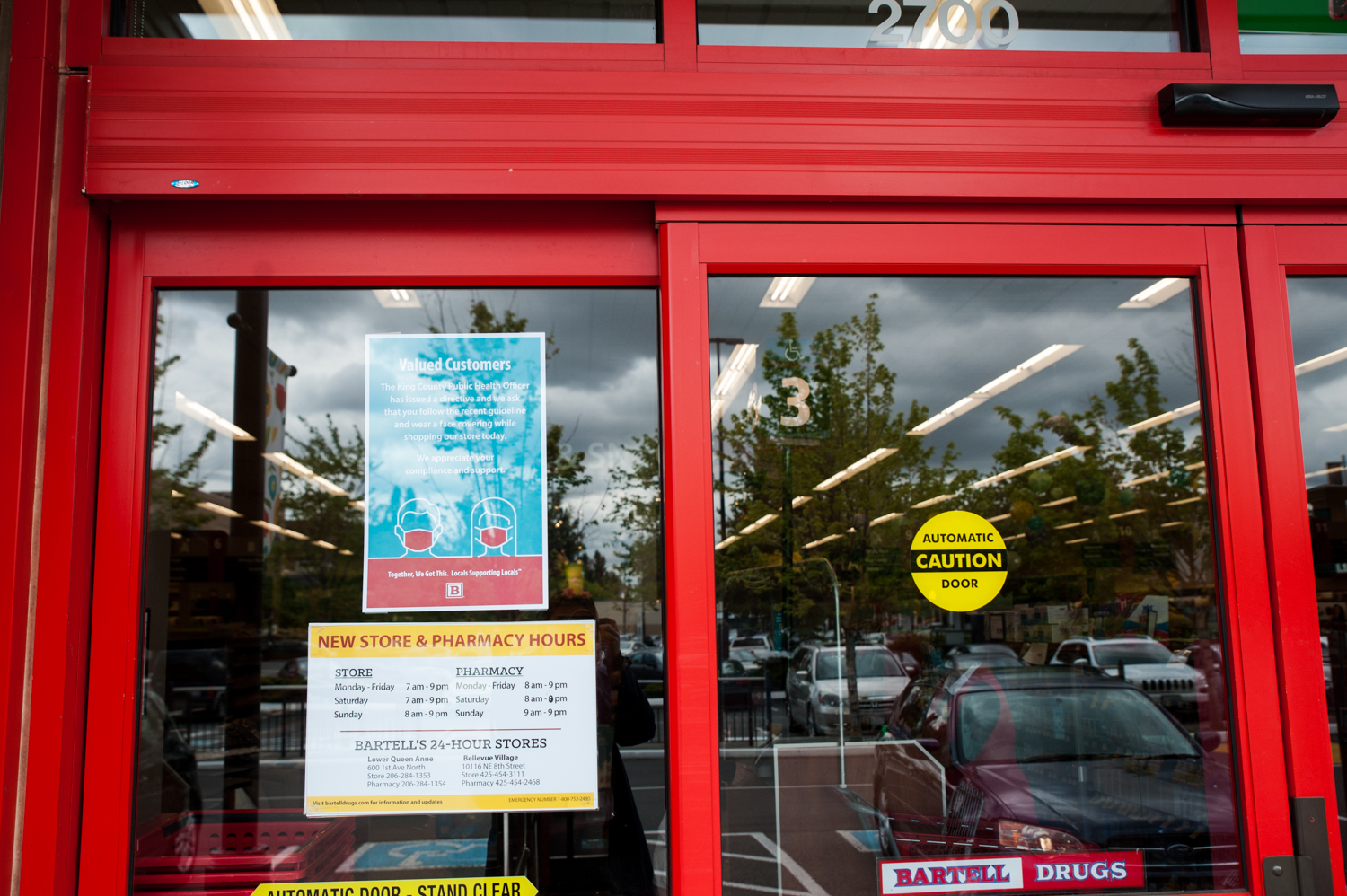 <p>In what is likely the understatement of the year, grocery stores look a little bit different these days. We were curious to document the lines outside several different grocery stores in the Seattle area, to see the different measures taken (inside and outside) to keep people safe while providing one of the most essential services there is: shopping for food. (Image: Elizabeth Crook / Seattle Refined)</p>