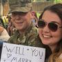 Surprise wedding proposal during Utah's Hogle Zoo bird show stuns unsuspecting Utahn