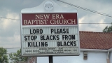 Birmingham church sign getting a lot of attention