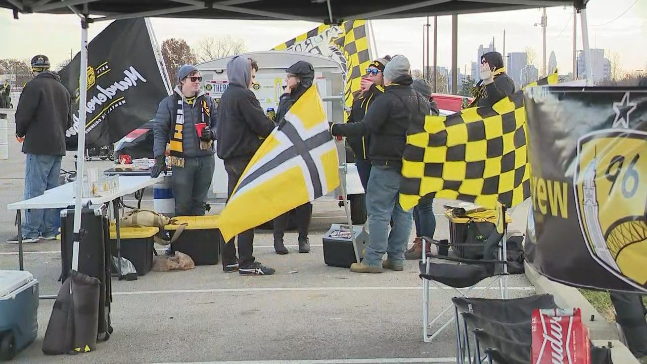 Game one of the eastern conference championship of the Audi 2017 MLS Cup playoffs took place Tuesday night at Mapfre Stadium between Columbus Crew SC and Toronto FC. (WSYX/WTTE)