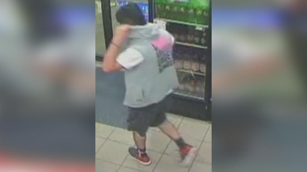 McAllen police seek to identify a person of interest in a burglary investigation. (Photo courtesy of the McAllen Police Department)