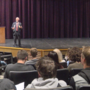 Rep. Newhouse gives American Government lesson at Hanford High