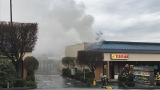 Crews respond to 2-alarm fire in Gig Harbor strip mall