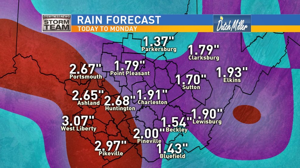 Flash flood watch issued through Thursday evening for nearly dozen