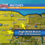 High Wind Watch in WNY
