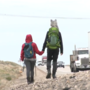 Couple arrives in Boise while walking 2918 miles across the United States