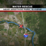 Battalion Chief: Rescue crews retrieve two men thrown from raft into McKenzie River