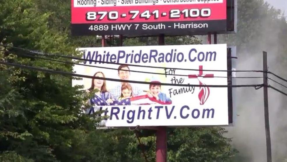Controversial billboards taken down in Harrison