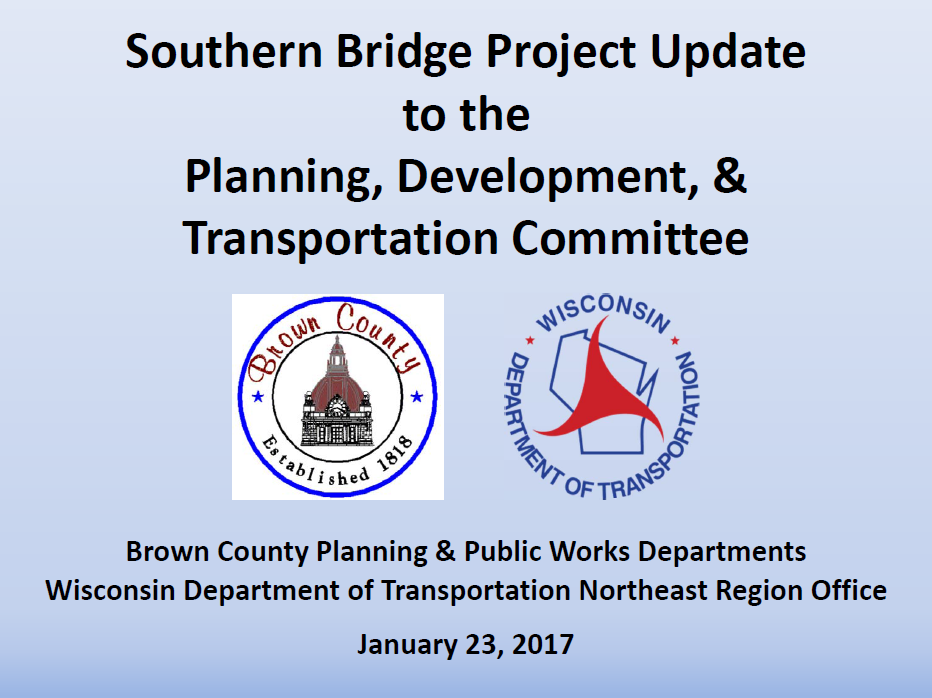 Brown County Southern Bridge Proposal<p></p>