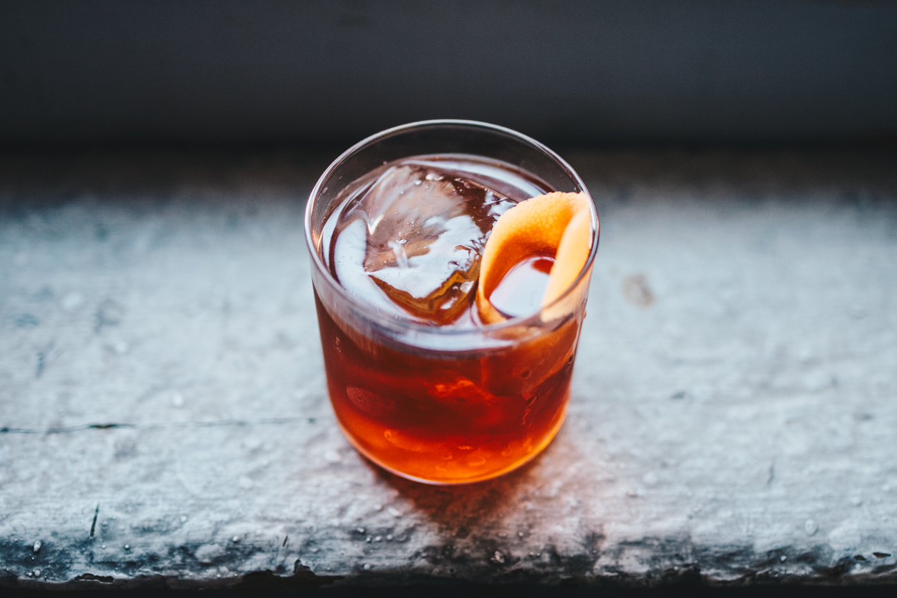 Roger Hensley: Mezcal, Cynar, Cappelletti, and grapefruit bitters / Image: Catherine Viox // Published: 10.23.18