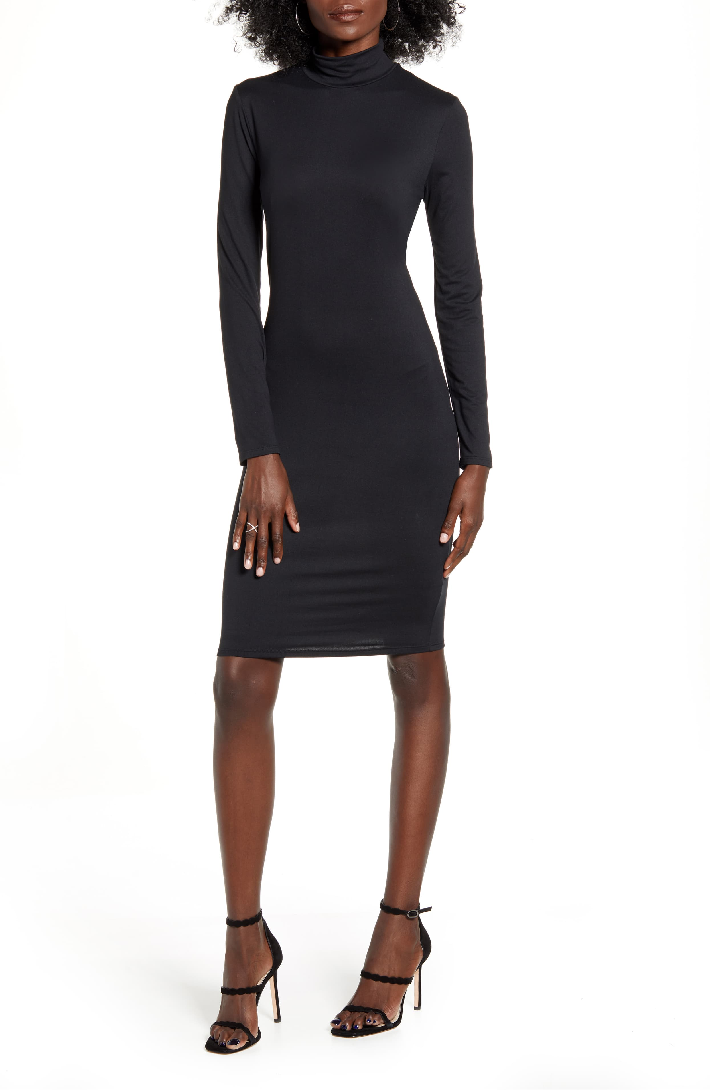 A body-skimming dress is cut to hug your curves and draw attention at every turn. $49Shop it(Image: Nordstrom)