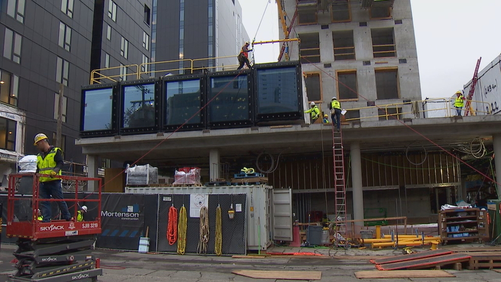 Can You Build A Room Inside Shipping Container New Seattle Hotel Aims To Find Out