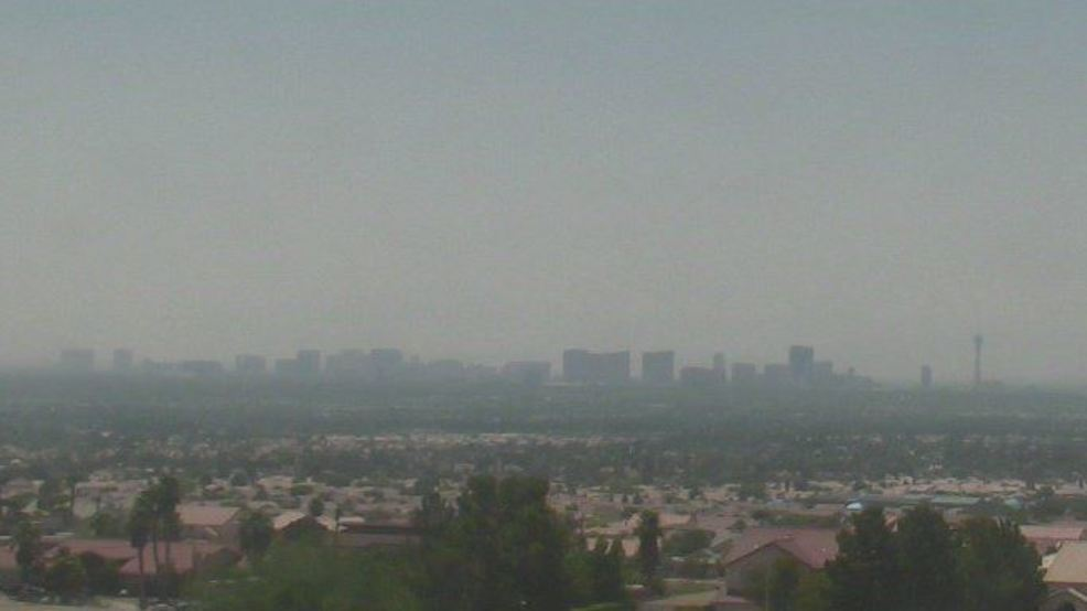 Smoke From California Fires Making Las Vegas Air Unhealthy In