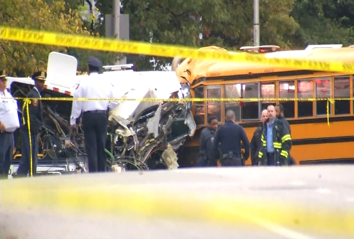 Baltimore Police have released the identity of the sixth victim in Tuesday's fatal bus crash, as they continue searching for next-of-kin.