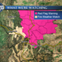 Fire weather concerns this weekend