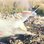 Sumter fire crews continue to battle warehouse fire for more than 15 hours