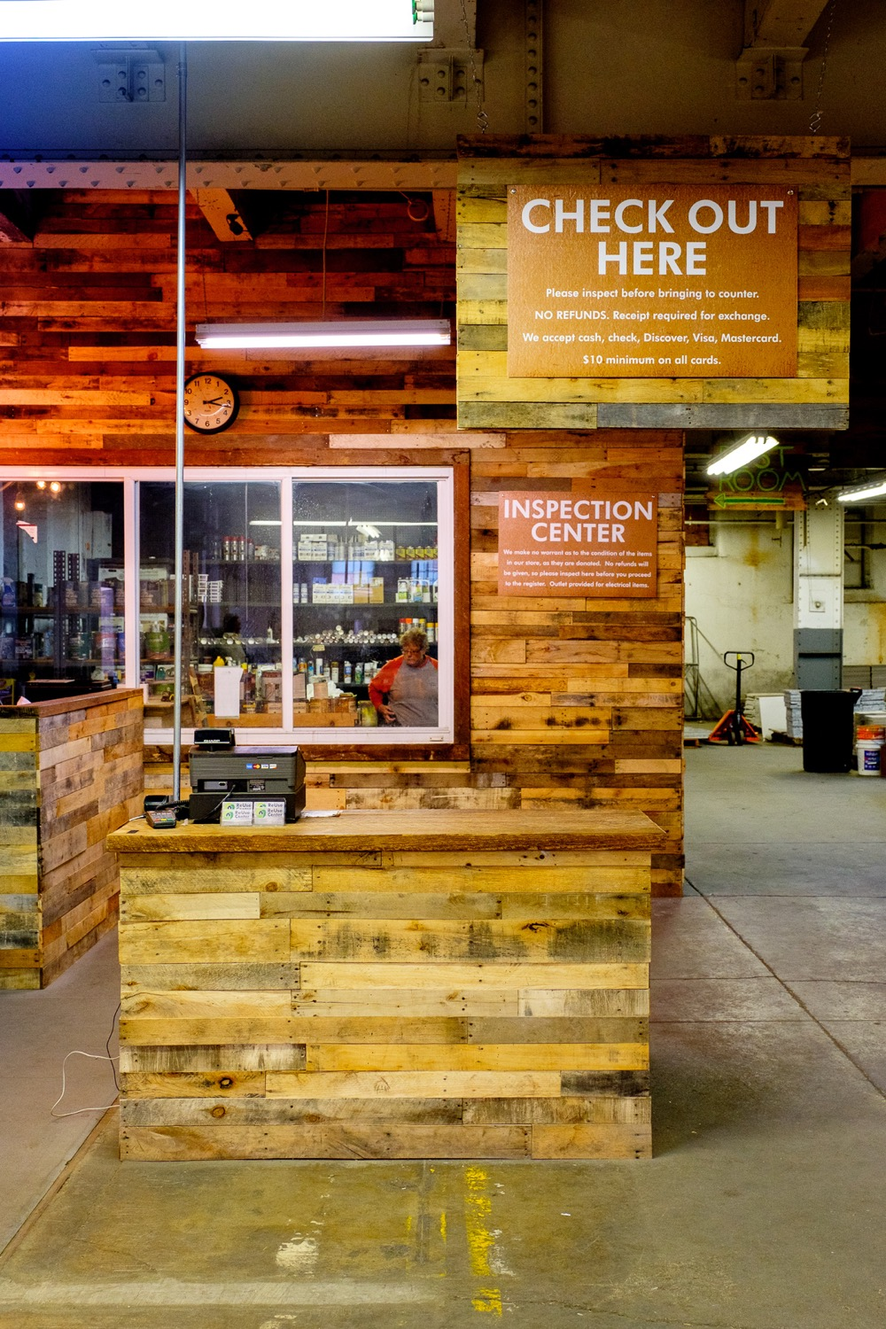 The ReUse Center offers building supplies and reclaimed materials on the cheap, so if you've got a DIY project, this is the first place you should look. / Address: 1530 Tremont Street, South Fairmount 45214 / Image: Daniel Smyth Photography